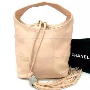 Chanel Tassel bucket bag